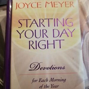 Book: Starting Your Day Right by Joyce Meyer